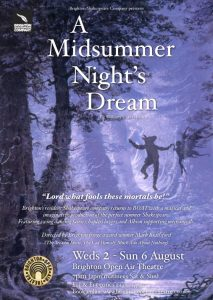 Sussex Playwrights Reviews: A Midsummer Night's Dream