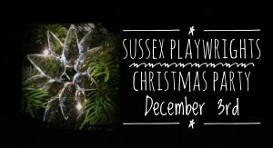 Sussex Playwrights Christmas 2017 party and meeting