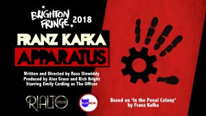 Sussex Playwrights Reviews – Franz Kafka Apparatus