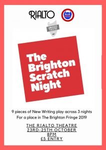 Sussex Playwrights Reviews: The Brighton Scratch Night